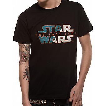 Star Wars voksne unisex voksne to tonede logo design T-shirt