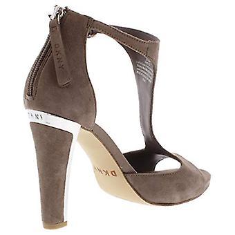 DKNY Womens Colby mocka pumpar klänning sandaler taupe 6,5 medium (B, M)