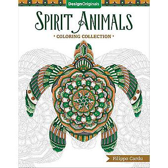 Spirit Animals Coloring Book by Filippo Cardu