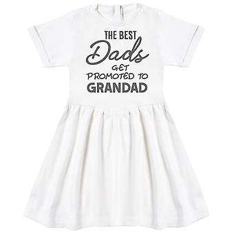The Best Dads Get Promoted To Grandad Baby Dress