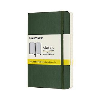 Pocket Squared Myrtle Green PB Notebook
