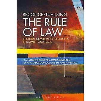 Funktio rättsstatsprincipen i Global styrning, resurser, investeringar och handel