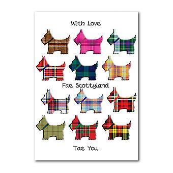 Embroidered Originals Fae Scotland - Scottie Dogs