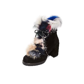 Stuart Weitzman Women's Yukon Fur Booties