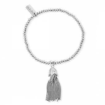 ChloBo SBMD933 Women's Mini Disc Tassel Bracelet