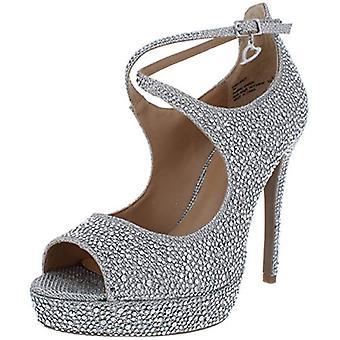 Thalia Sodi Femme Chelsie Criss-Cross Front Sandals Plateforme Talons