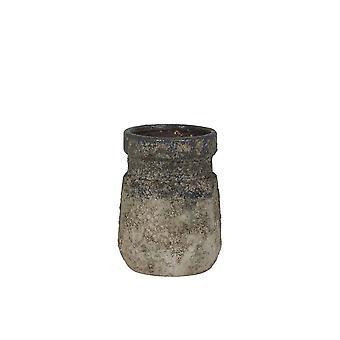 Lys & Levende Vase Deco 13.5x19.5cm Soputan Rå Vintage Blå