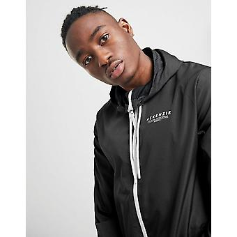 Nya McKenzie Boys' Essential Full Zip Windbreaker Jacket Svart