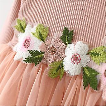 Mornbaby Toddler Kids Baby Girls Knitted Tulle Cap Tutu Dresses Jersey Dress ...