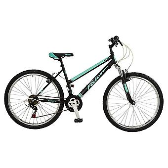 Falcon Vienne 26 Inch Front Suspension Mountain Bike Black/Teal
