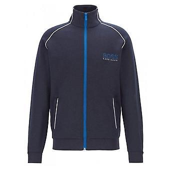 Hugo Boss Leisure Wear Hugo Boss Men's Dark Blue Tracksuit Jacket