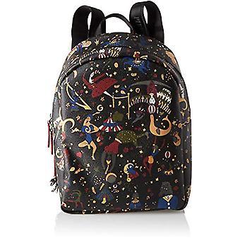 piero drive Back Pack Black Woman Backpack Bag (Plum) 24x31.5x12.5 cm (W x H x L)