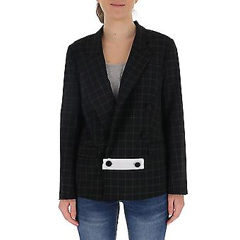 Maison Flaneur 20smdja220ty283 Women's Black Wool Blazer