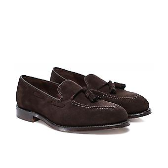 Loake Suede Russell Loafers