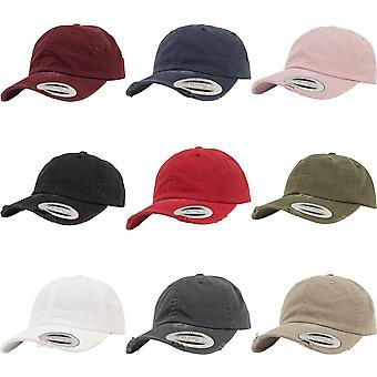 Flexfit By Yupoong Low Profile Destroyed Cap