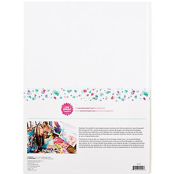 Spellbinders مجلة قماش 9x12 بوصة