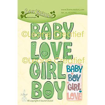 Leane Creatief Lea'bilitie Baby, Boy, Girl, Love