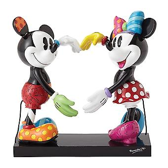Disney By Britto Mickey & Minnie Mouse Figurine