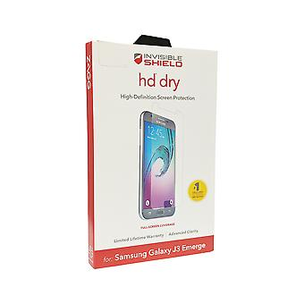 ZAGG InvisibleShield HD Dry Screen Protector for Samsung Galaxy J3 Emerge
