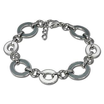 Amello - Women's bracelet - stainless steel and enamel - 180 mm - cod. VESAG01K