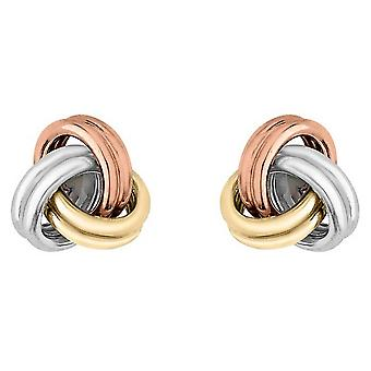 KJ Beckett nó pequeno brincos - ouro ouro/prata/rosa