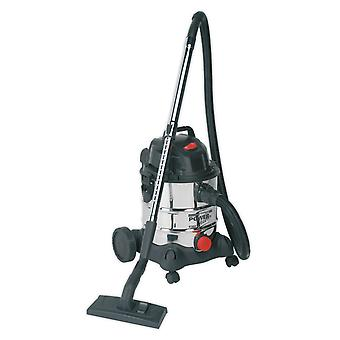 Sealey Pc200Sd aspirateur industriel humide & sécher 20Ltr 1250W/230V inox
