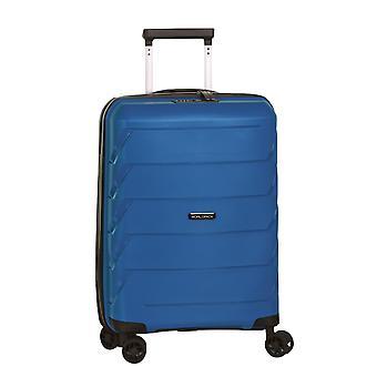 Fabrizio Worldpack Capri Handbagage Trolley S, 4 Wielen, 54 cm, 32 L, Blauw