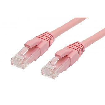 Cat 5E Ethernet Network Cable Pink