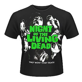 Plan 9 Nacht der lebenden Toten offiziellen T-Shirt Herren Unisex