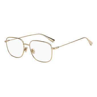 Dior STELLAIRE O13 J5G Gold Glasses