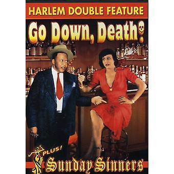 Gå ner död/söndag syndare [DVD] USA import