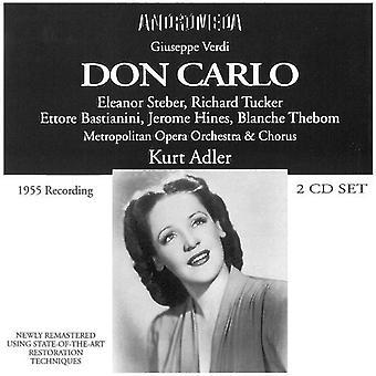 Verdi / Steber / Tucker / Bastianini / Hines - Don Carlo [CD] USA import