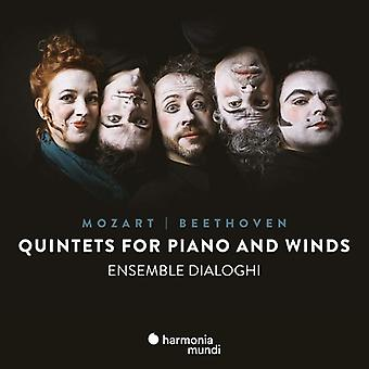 Ensemble Dialoghi - Mozart & Beethoven: Quintets for Piano & Winds [CD] USA import