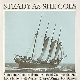 Killen/Warner/Warner/Benson - Steady as She Goes: Songs & Chanties From the Days [CD] USA import