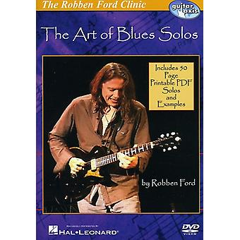 Ford Robben-Art of Blues Solos [DVD] USA import