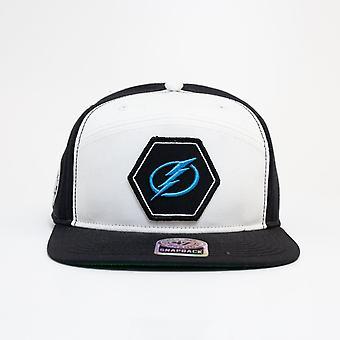 '47 Nhl Tampa Bay Lightning White Hex Snapback Cap