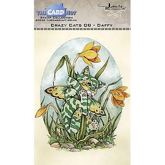 The Card Hut Crazy Cats Daffy Clear Stamps
