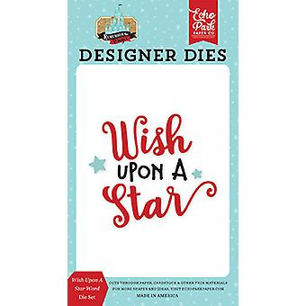 Echo Park Wish Upon A Star Word Dies