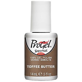 SuperNail ProGel Gel Nail Polish - Toffee Butter 14ml