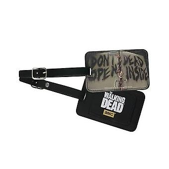Luggage Tag - The Walking Dead - Don't Open Dead Inside Toys TWD-L114