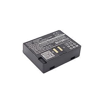Korvaaminen akku Eartec CS-800LI ComStar Kuulokkeet Wireless Headset