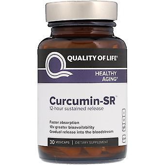 Quality of Life Labs, Curcumin-SR, 30 Vegicaps