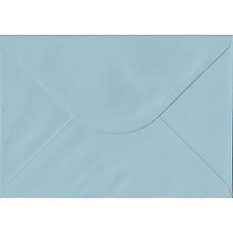 Baby Blue gegomd C5/A5 gekleurde blauwe enveloppen. 100gsm FSC duurzaam papier. 162 mm x 229 mm. bankier stijl envelop.