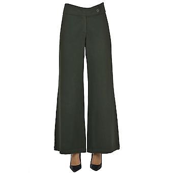 Labo.art Ezgl558001 Women's Green Cotton Pants