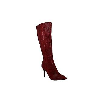 Thalia Sodi Womens rajel tissu pointu Toe genou haute couture bottes