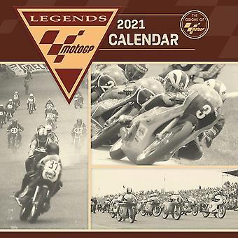 Moto GP Calendar 2021 Celebration Edition Official Wall Calendar 2021, 12 Months, Staple Binding, English Version.