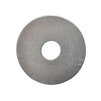 Forgefix Flat Mudguard Washers ZP M10 x 50mm Bag 10 FORMWASH105M