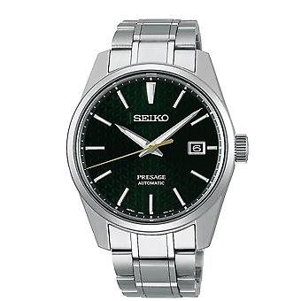 Seiko Watches Spb169j1 Presage Green & Silver Stainless Steel Automatic Men's Watch
