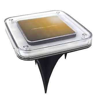 أضواء أرضية تعمل بالطاقة الشمسية دفن الأمن في الهواء الطلق مصباح الحديقة لساحة