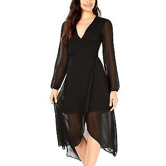 Λέιντεν | Μακρύ μανίκι περιτύλιγμα φόρεμα